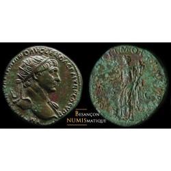 TRAJAN - ROME - DUPONDIUS -...