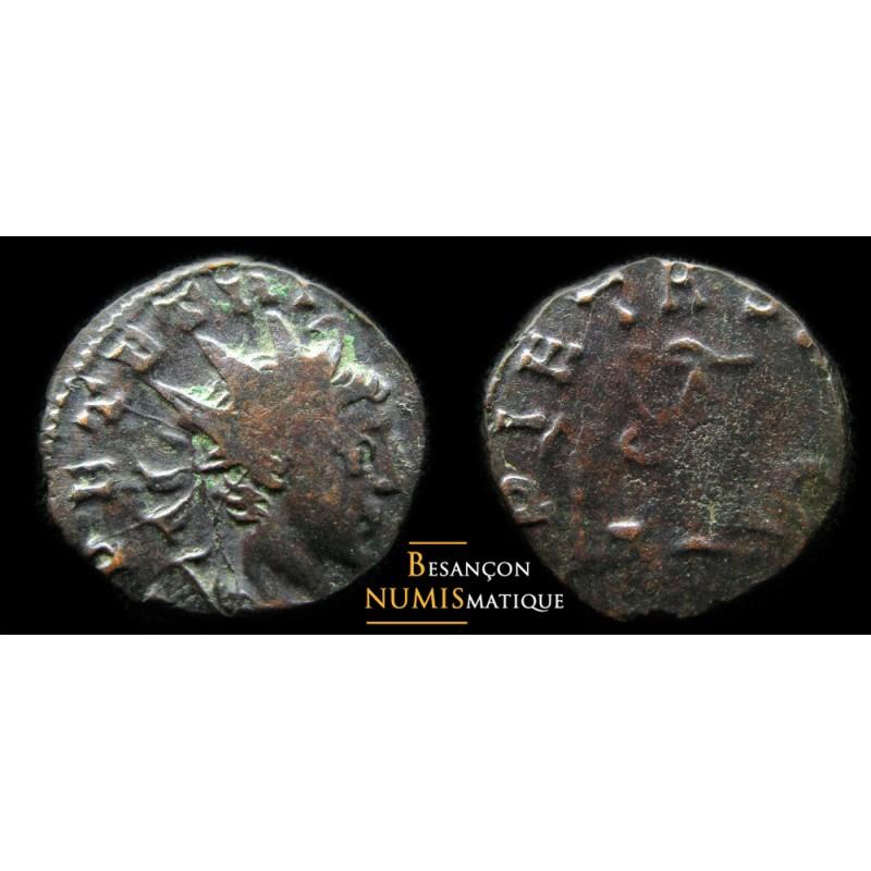 Monnaie romaine de l'empereur TETRICVS au revers PIETAS AVGG