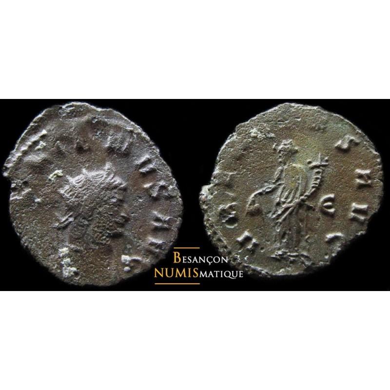 Monnaie romaine de l'empereur Gallien au revers UBERITAS