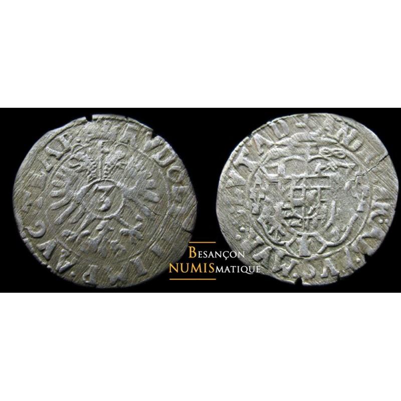 Monnaie d'alsace Murbach et Lure - 3 kreuzer
