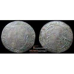 Monnaie féodale Alsace - Murbach et Lure Léopold Guillaume d'Autriche