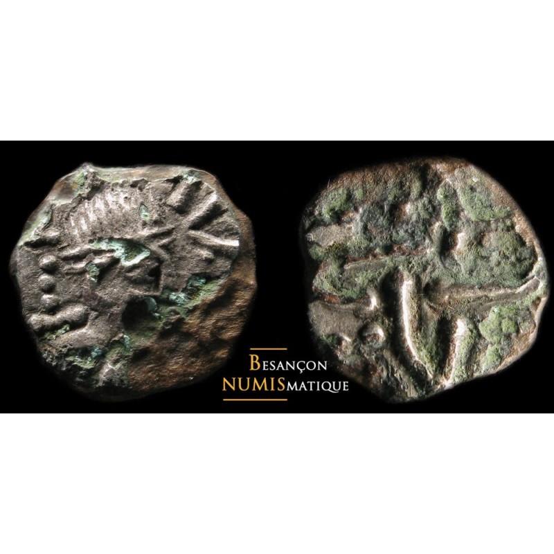 Mérovingiens -  Bourgogne (?) - Belfort – cf. 6000, attribué à Avtisiodorum