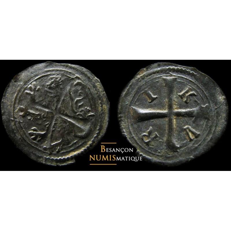 monnaie féodale de Charles Quint - Double Mite, Anvers