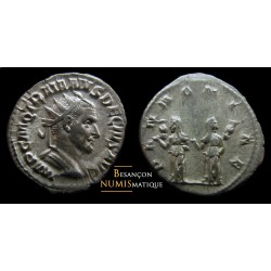Monnaie romaine, trajand Dece, Pannonie