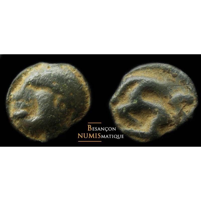 monnaie gauloise, Eduens, potin inédit