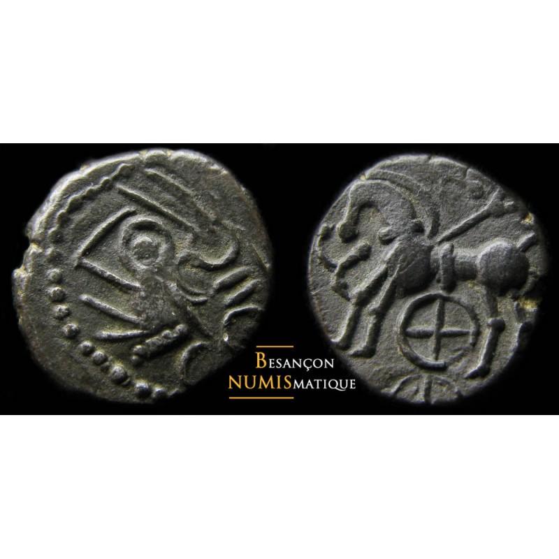 monnaie gauloise, Quinaire KALETEDOY, IMITATION