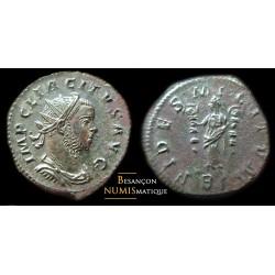 monnaie romaine de TACITE , LYON, FIDES MILITUM
