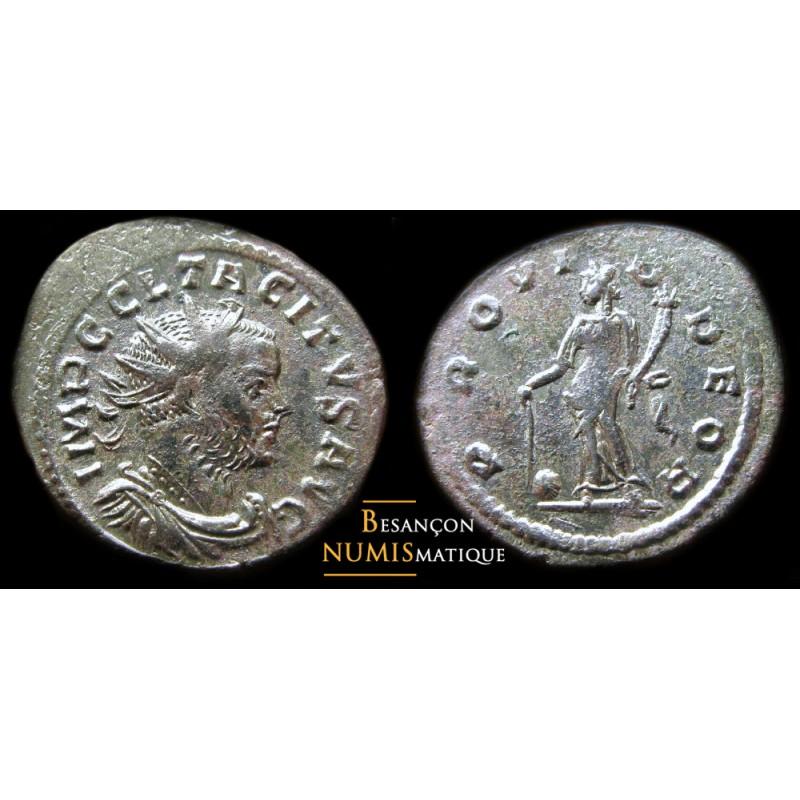 monnaie romaine de TACITE pour LYON, PROVI-D DEOR