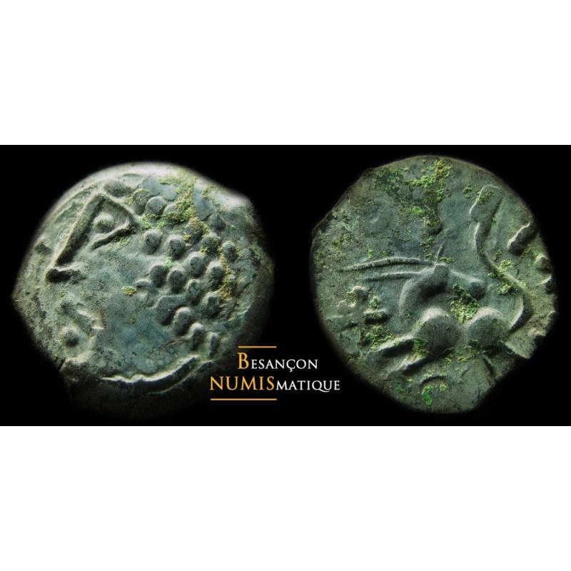 Monnaie gauloise, Lingons, bronze Ekpito