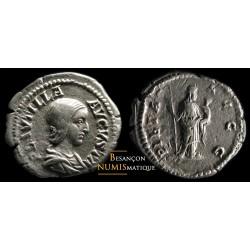 Monnaie romaine, denier de Plautille
