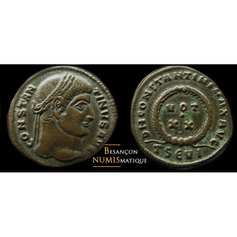 CONSTANTIN  - THESSALONIQUE - RIC 1​23​ (​R2​)