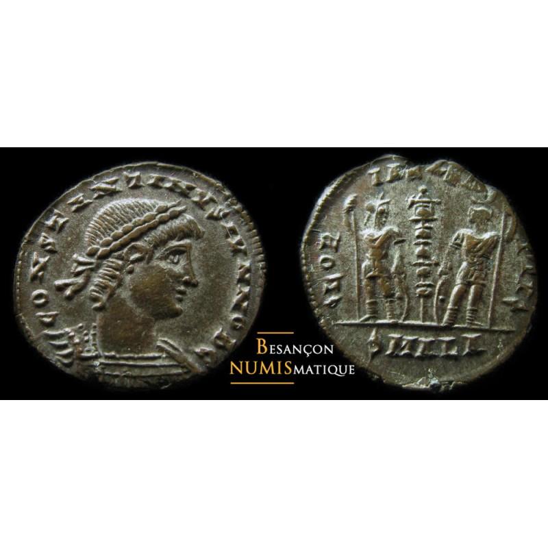monnaie romaine CONSTANTIN II  ALEXANDRIE RIC 66