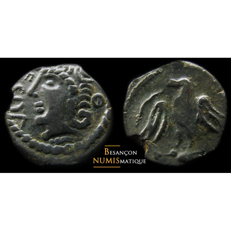 monnaie gauloise, bronze Ecoa