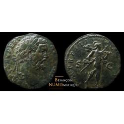 Monnaie romaine, SEPTIME SEVERE - SESTERCE - MARS