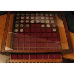 numismatique, MEDAILLIERS DE LUXE - EXCLU BNUMIS - AMG BOX