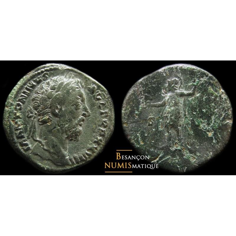 monnaie romaine, sesterce de Marc aurèle, ric 1115