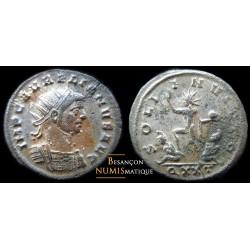 monnaie romaine de aurélien, soli invicto