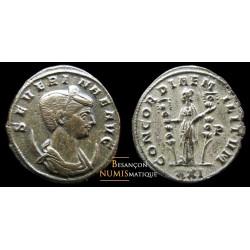 monnaie romaine, severine