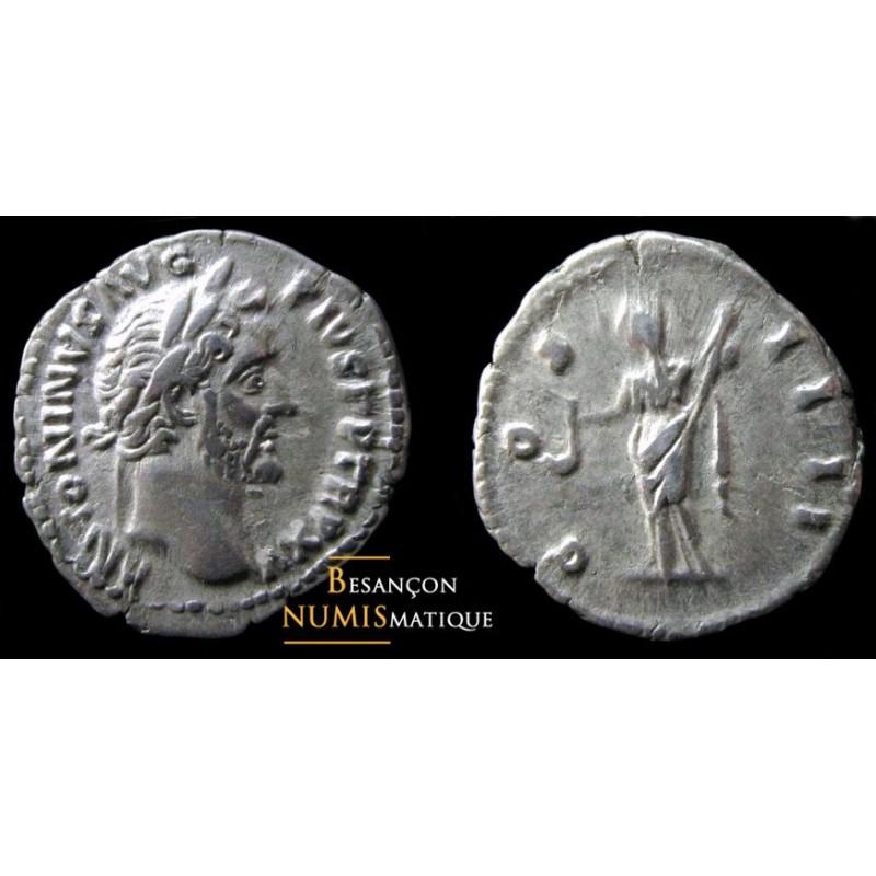 ANTONIN LE PIEUX - DENIER - ROME - COS III