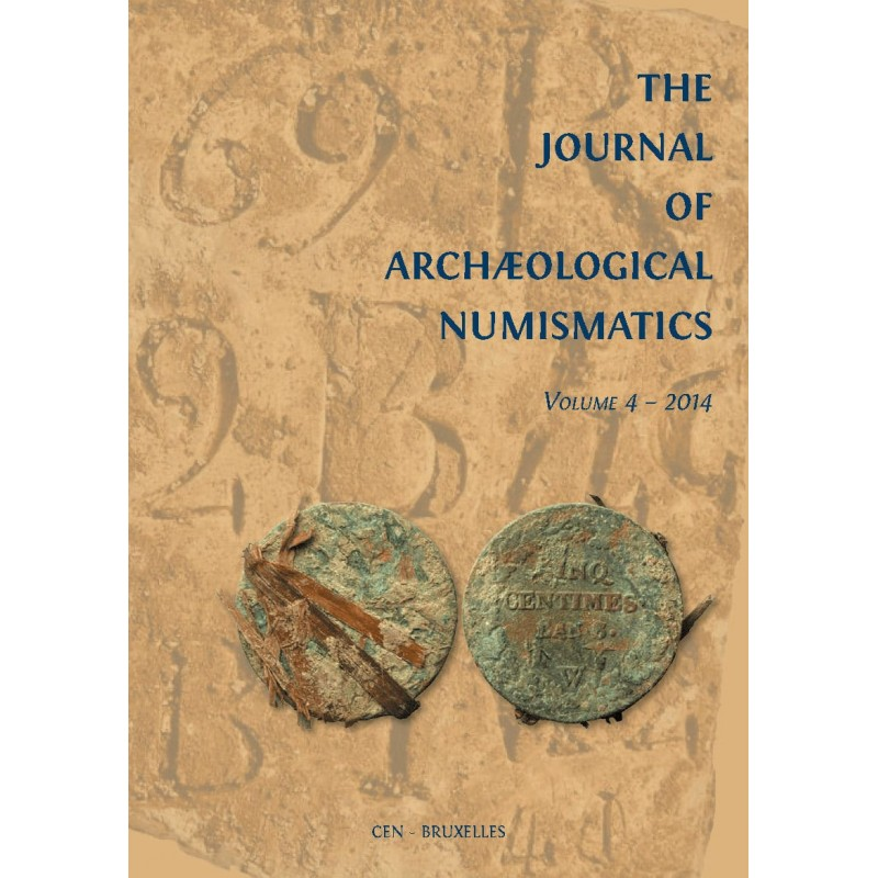 The Journal of Archæological Numismatics - VOLUME 4 - 2014