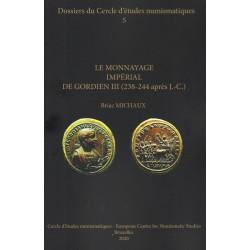 couverture de Le monnayage impérial de gordien III