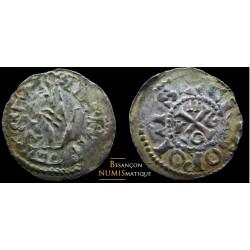 Monnaie de besançon , estevenant de Hugues Ier