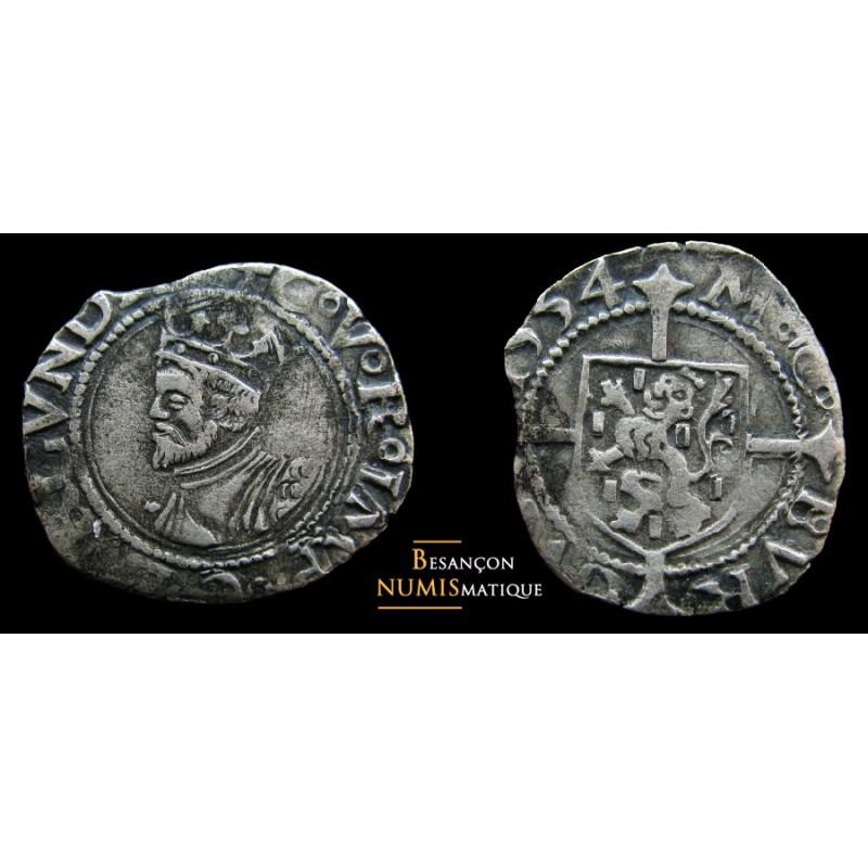 monnaie de Charles Quint, Dole, blanc de 1554