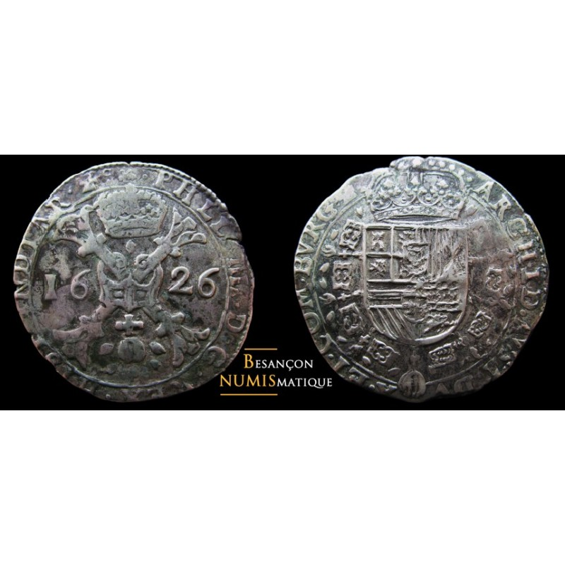 monnaie de dole, patagon 1626