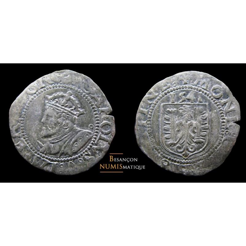 monnaie de besançon, carolus de 1541