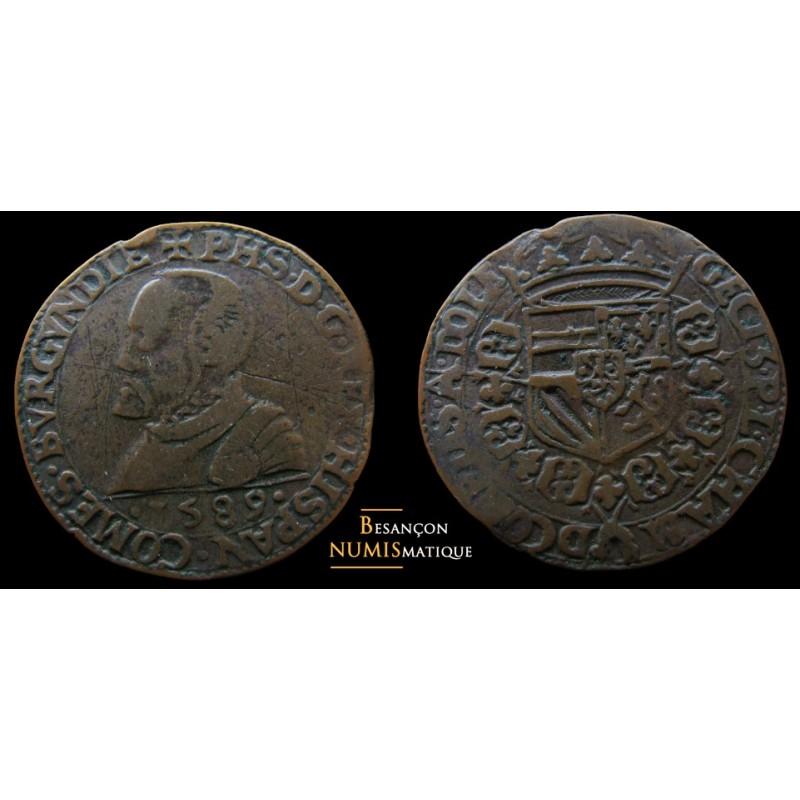 jeton Chambre des comptes de Dole 1589
