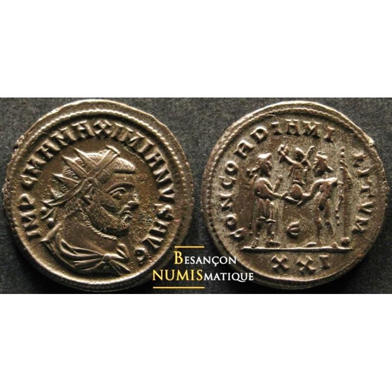 MAXIMIEN HERCULE - CYZIQUE - RIC 607 var. Rare