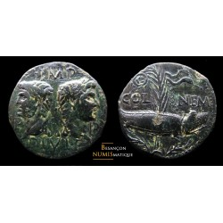 Nimes, Dupondius, COL NEM