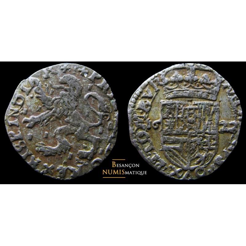 BOURGOGNE - PHILIPPE IV D'ESPAGNE - DOLE - Carolus au lion - 1622 - SUPERBE !