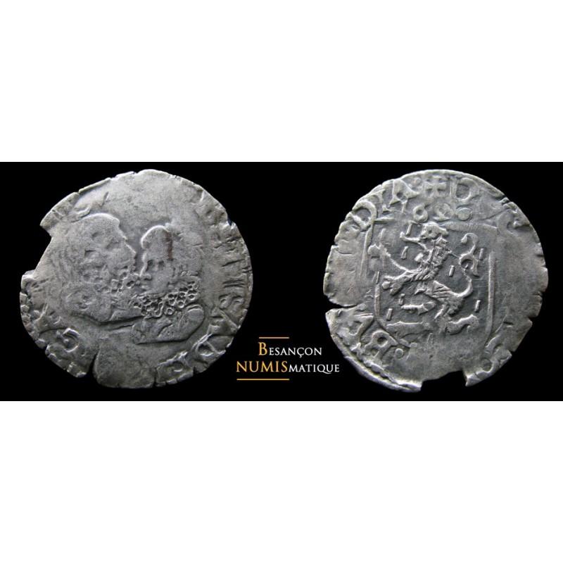 BOURGOGNE - ALBERT ET ISABELLE - DOLE - CAROLUS - 1616 - RARE !!!