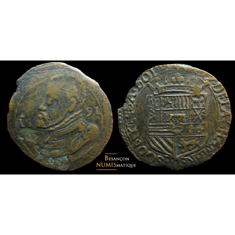 BOURGOGNE - Chambre des comptes de Dole 1591 - F.10371