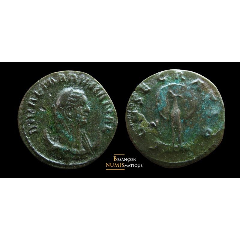 MARINIANE - Antoninien - Rome - CONSECRATIO - RARE