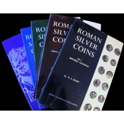 Roman Silver Coins - Les 5...