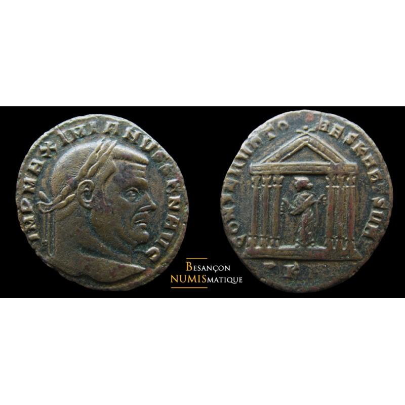 MAXIMIEN HERCULE - Follis - Carthage - Rare !