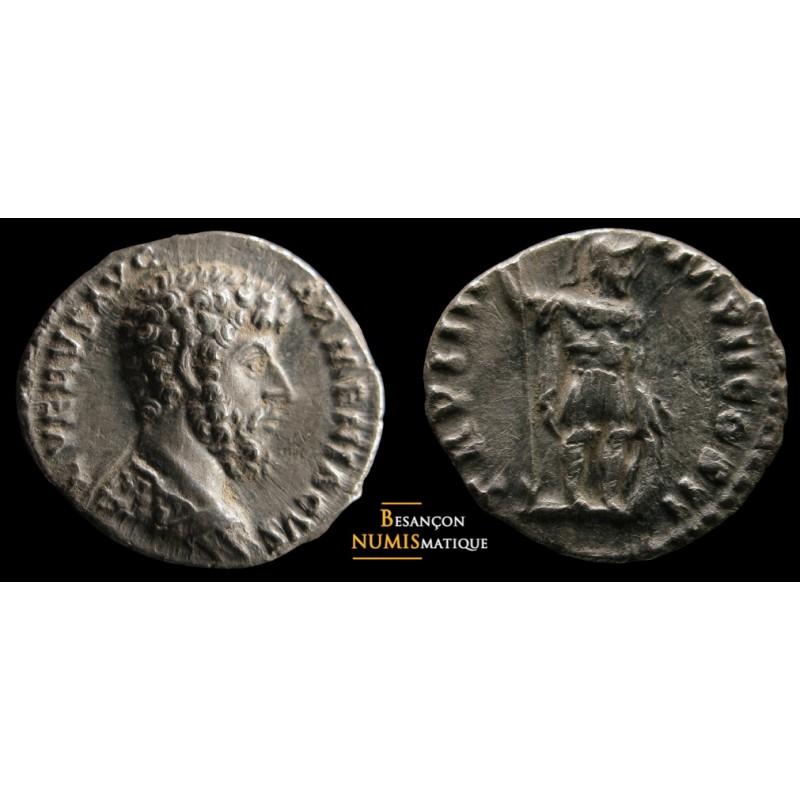 Lucius Verus - Rome - Denier - Portrait !