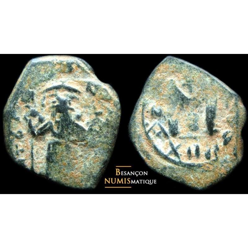 CONSTANS II - Æ follis - BC 1007 - MIB 170b -RARE DANS CETTE QUALITE !