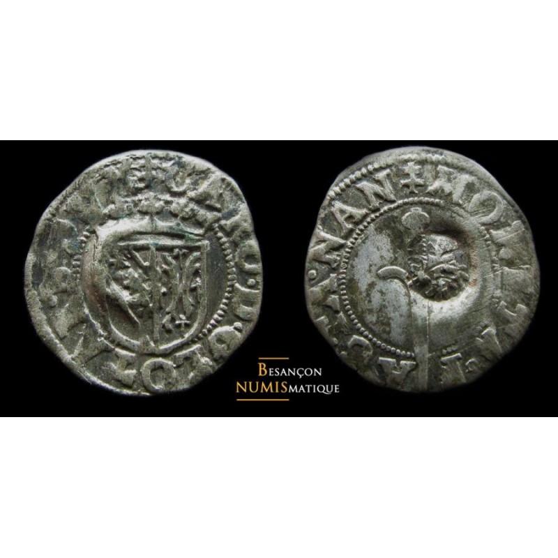 Lorraine - Duché de Lorraine - Charles III - SOL ou CAROLUS - contremarque - TRES BELLE QUALITE POUR CE TYPE !!