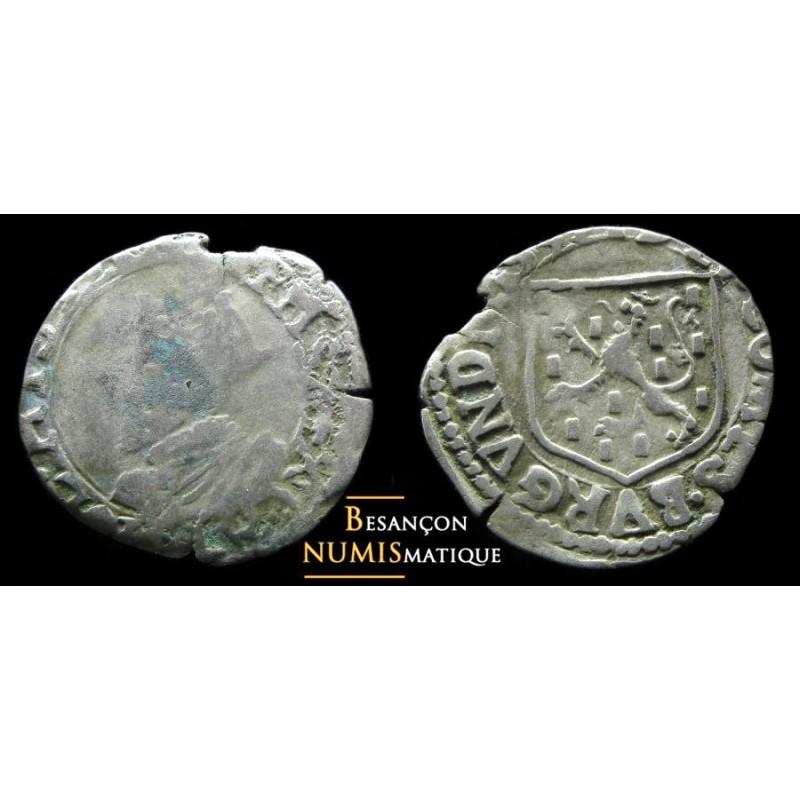 BOURGOGNE - PHILIPPE II D'ESPAGNE - DOLE - CAROLUS - 1593 - CMR 3.4.1