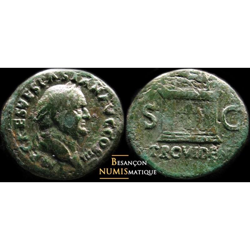 VESPASIAN - AS - ROME - RIC² 315. RARE !!