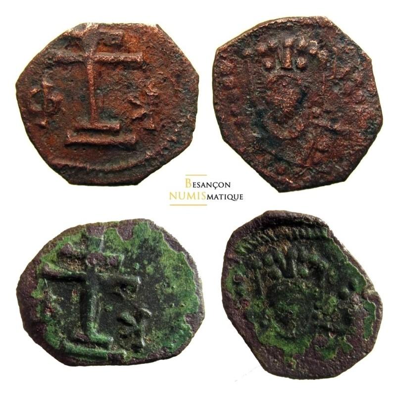 ALEXIS I - SEAR 1932var - DOC 45 - 2 monnaies / même paire de coin ! extremement rare !!