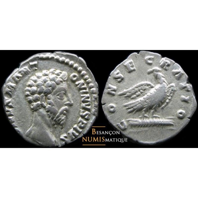 Divus Marcus Aurelius - AR Denier -