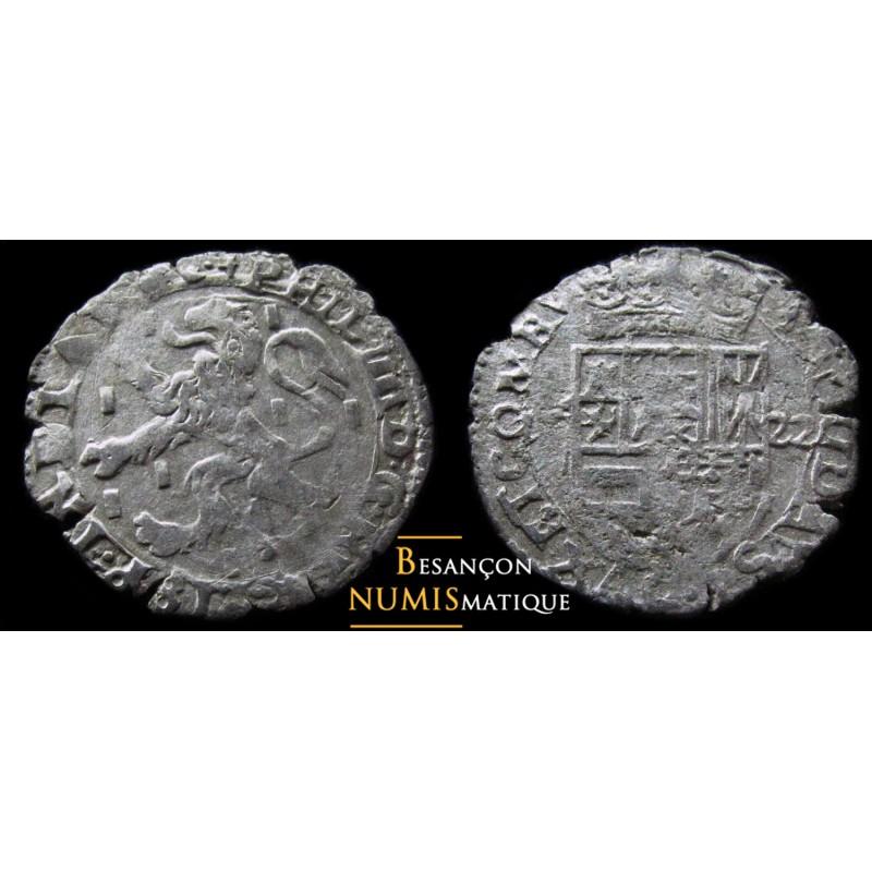 BOURGOGNE - PHILIPPE IV D'ESPAGNE - DOLE - Carolus au lion - 1622 - cmr 5.1.10 - SUPERBE MONNAIE !