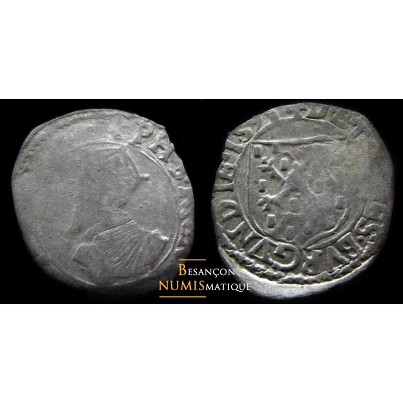 BOURGOGNE - PHILIPPE II D'ESPAGNE - DOLE - CAROLUS - 1591 - Cmr 3.4.1 - RARE 2 !!!!