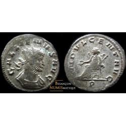 Monnaie romaine de Gallien au revers indvlgent