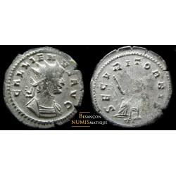 Monnaie romaine de Gallien secvurit orbis