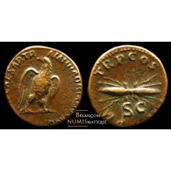 Hadrien - Rome - Ae semis...